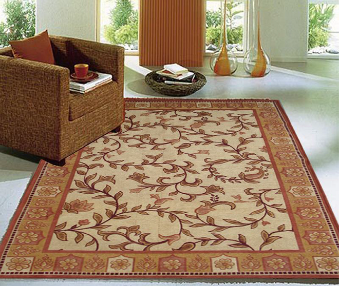 luxury rugs india