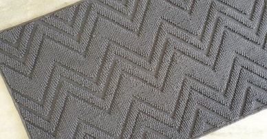 Textured Stripe bath mats-Bath mats manufacturers in India