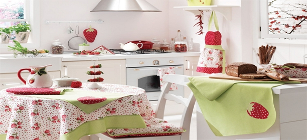 manufacturers, exporters, traders of Kitchen Textiles